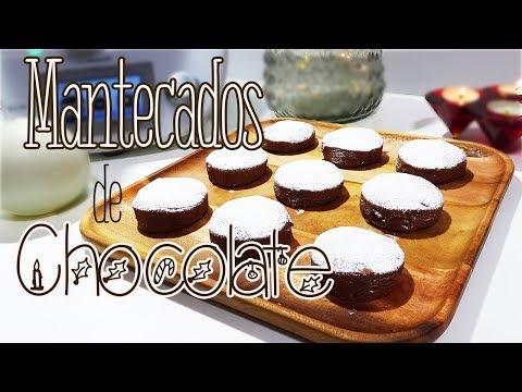 Mantecados de Chocolate | Muy Fáciles de Hacer