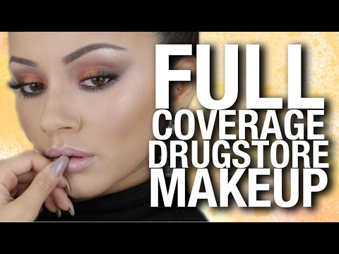 FULL COVERAGE Drugstore Makeup Tutorial x L'Oreal Paris Total Cover Ad