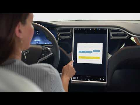 Model S+X Guide | Software Updates