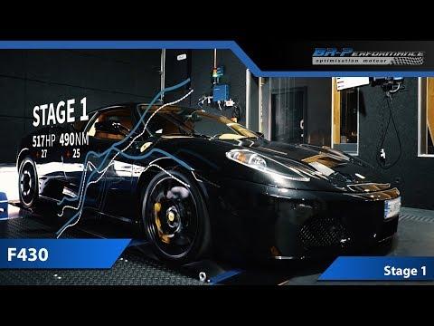 Ferrari F430 4.3 V8 Stage 1 By BR-Performance