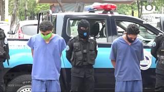 Nicaragua está más segura gracias a la captura de 56 delincuentes