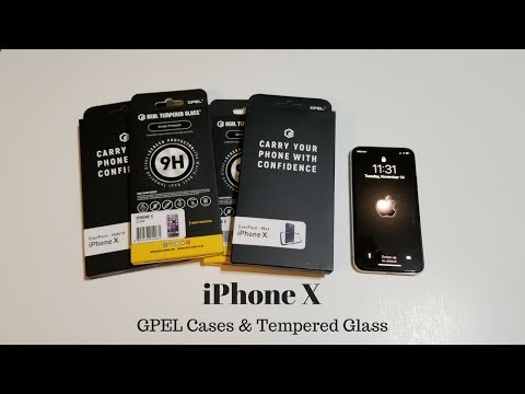 iPhone X - GPEL Cases & Tempered Glass