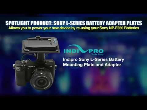 Indipro Sony L Series Battery Mounting Plate and Adapter