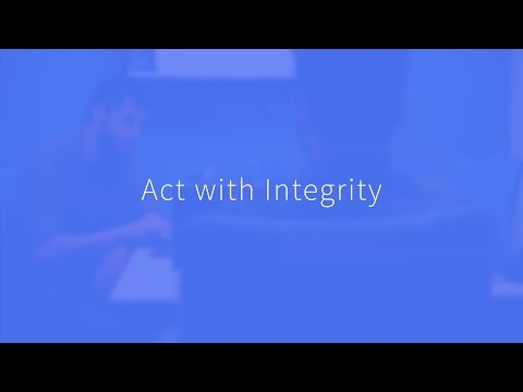 Act with Integrity - BigCommerce Values
