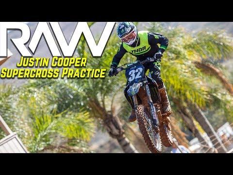 Justin Cooper Supercross Practice RAW - Motocross Action Magazine
