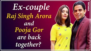 Are Raj Singh Arora and Pooja Gor BACK together? | Details INSIDE | TellyChakkar | Checkout | - TELLYCHAKKAR
