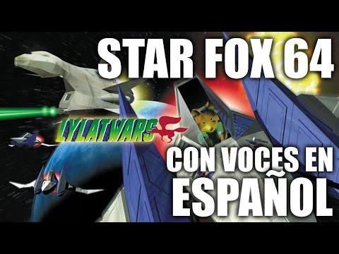 Star Fox 64 Doblado al Español y en consola original - Lylat wars con voces en Castellano Nintendo64