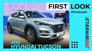 Hyundai Tucson 2020 Unveiled At Auto Expo 2020 | Here's What's New | ZigWheels.com