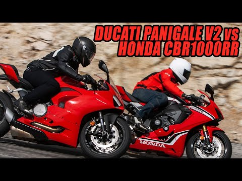 The $16,500 Challenge: 2020 Ducati Panigale V2 vs. 2019 Honda CBR1000RR