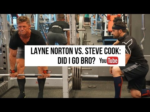 Layne Norton vs. Steve Cook: Did I go Bro?