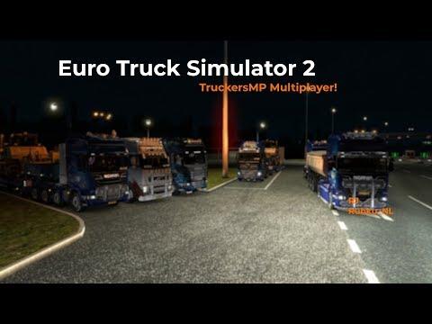 Euro Truck Simulator 2 TruckersMP Livestream 30092017