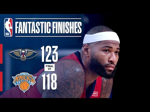 The Pelicans and Knicks Battle In OT at New York | January 14, 2018