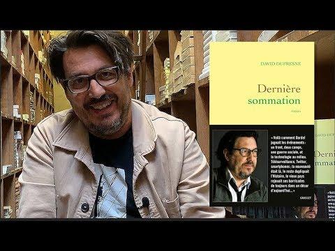 Vidéo de David Dufresne
