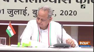 Will make Rajasthan a pioneer in field of medical science: CM Gehlot - INDIATV