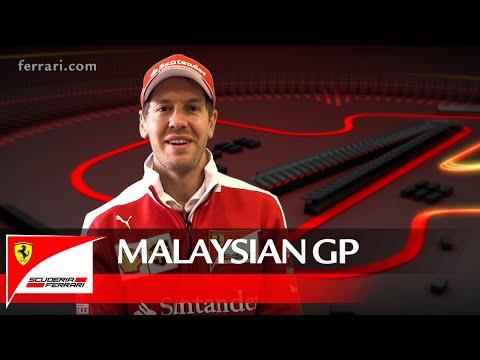The Malaysian GP with Sebastian Vettel – Scuderia Ferrari 2016