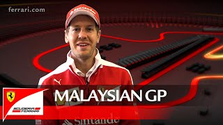 The Malaysian GP with Sebastian Vettel – Scuderia Ferrari 2016