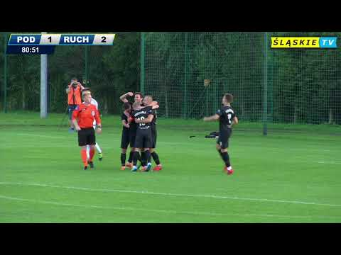 Skrót meczu Podlesianka Katowice - Ruch Chorzów 2:3 (K)