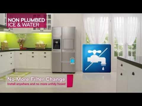 Amerikanischer Kühlschrank Wassertank : Vergleich side by side kühlschrank ohne festwasseranschluss