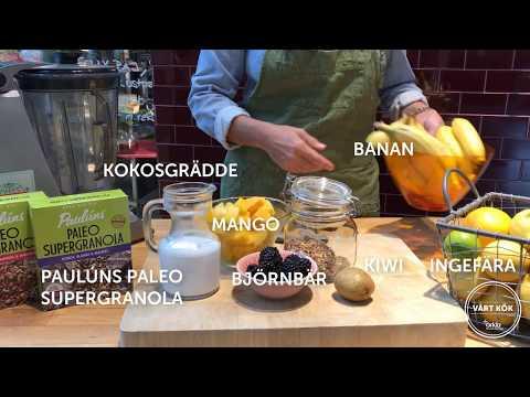 Inspireras med Vårt Kök: Smoothiebowl