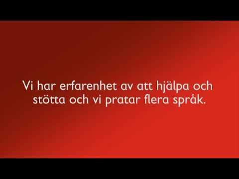 Rädda Barnens Stödlinje på tigrinja med svensk textning