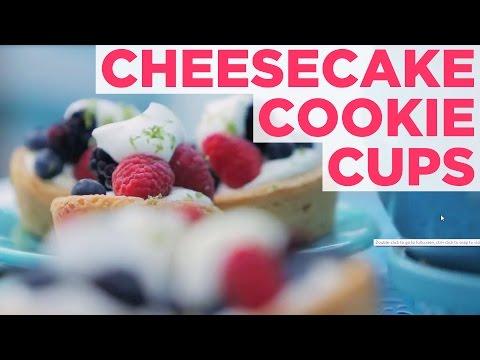 One-Bite Dessert: Cheesecake Cookie Cups - HGTV