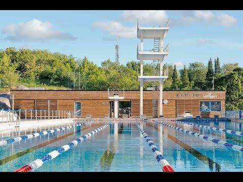 Deutsch: Samppalinna Schwimmstadion