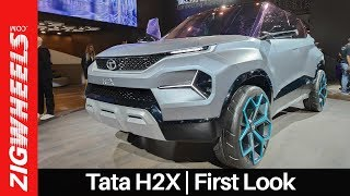 Tata H2X Concept Walkaround | Upcoming Micro-SUV For India | ZigWheels.com