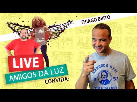 ANJOS DA GUARDA E ESPÍRITOS PROTETORES com THIAGO BRITO - Live Amigos da Luz
