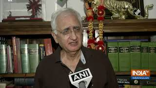 If nobody came, where did China withdraw from: Salman Khurshid asks Centre - INDIATV