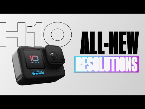 GoPro: HERO10 Black   New Resolutions and Frame Rates