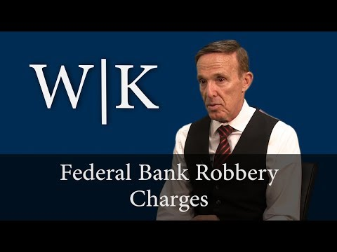 Federal Bank Robbery Charges (18 USC 2113)