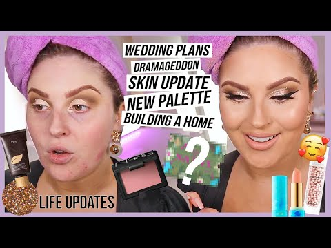 "GRWM life update ? wedding delays"" new business! dramageddon, building a dream house & more"