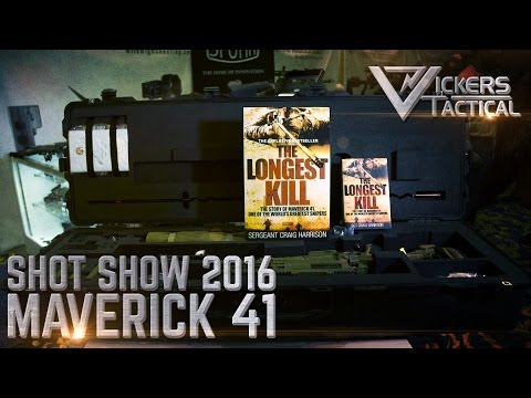 Shot Show 2016: Accuracy International .338 Maverick 41 Package
