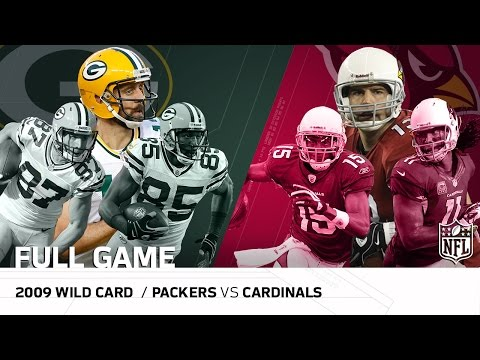 """2009 NFC Wild Card: Packers vs. Cardinals 
