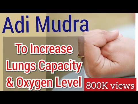 Mudra to Increase Lungs Capacity & Oxygen Level & Immunity | Mudra to stop Snoring |Yoga with Shakti
