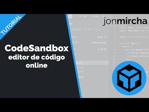 📶🤓 CodeSandbox 😱 un Visual Studio Code ONLINE 🤯 - jonmircha