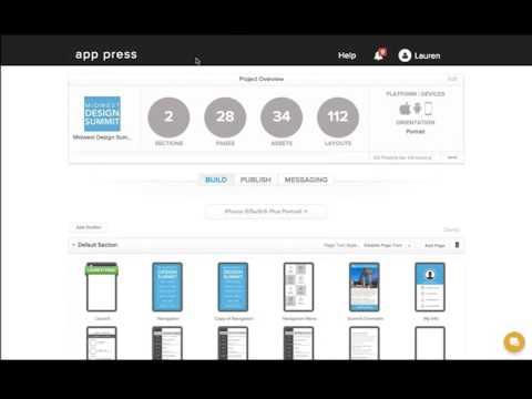 App Press | Demo - Building New Apps