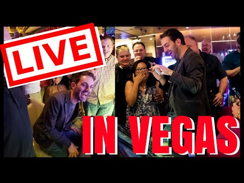 connectYoutube - 🔴LIVE in Vegas Casino ✦ $100 Wheel of Fortune + MORE! ✦ with Brian Christopher at Cosmopolitan