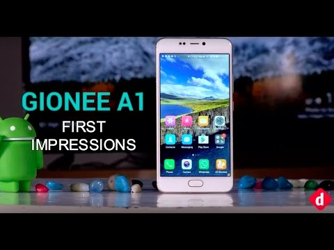 Gionee A1 First Impressions: Specifications & Price | Digit.in
