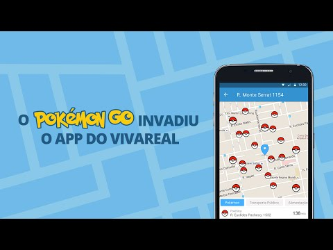 Pokémon Go invadiu o app do VivaReal