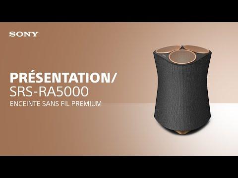 Découvrez l'enceinte sans fil premium SRS-RA5000 de Sony