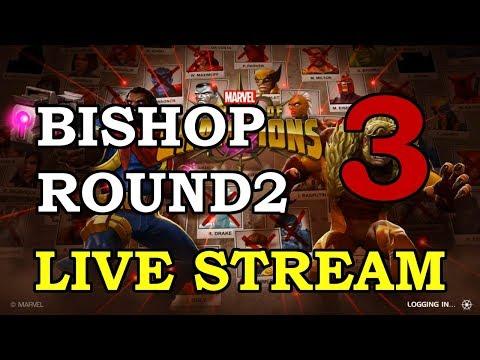 connectYoutube - Bishop Round 2 - Part 3 | Marvel Contest of Champions Live Stream