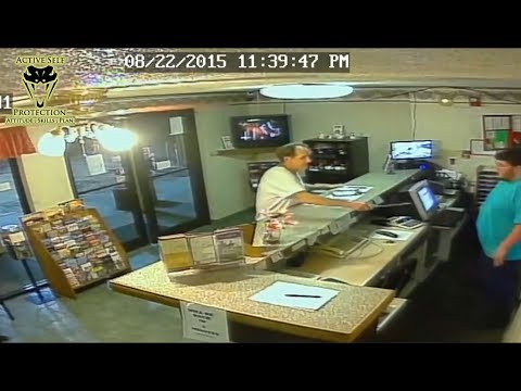 Hotel Clerk Thinks Fast to Protect Himself from Robbery | Active Self Protection