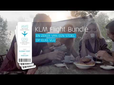 KLM introduceert Flight Bundle