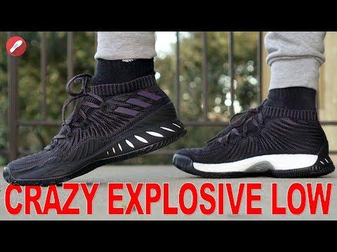 Adidas Crazy Explosive Low 2017 Primeknit First Impressions!
