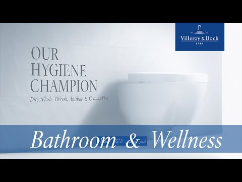 Our hygiene champion - The innovative toilet for quadruple cleanliness (Arabic) | Villeroy & Boch