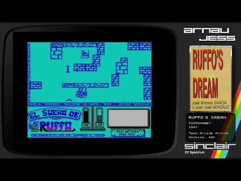 RUFFO´S DREAM Zx Spectrum by MicroHobby