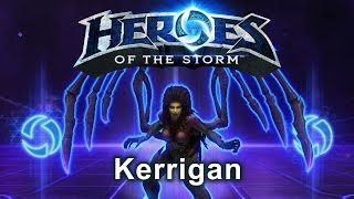 Heroes of the Storm - Kerrigan (Gameplay)