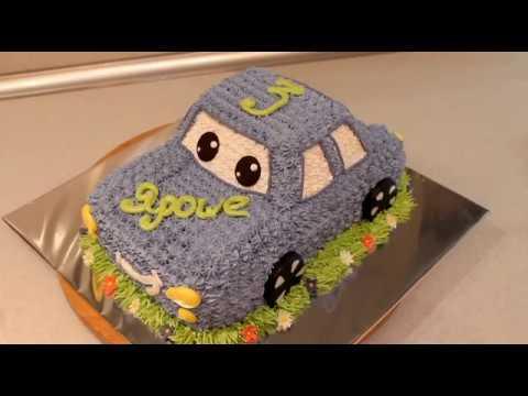 Торт Машина Как Сделать Торт Машину Кремовый Торт photo