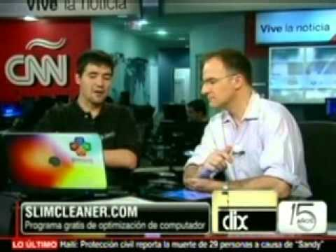 Featured Coverage of SlimCleaner™ - CNN Español CLIX